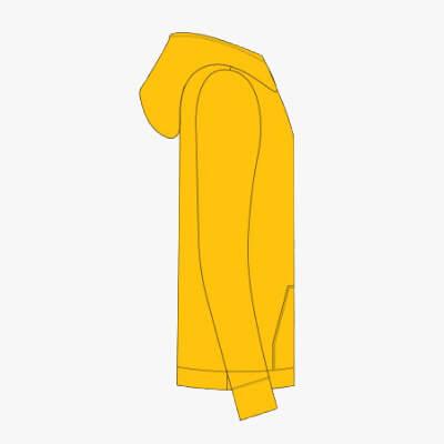Hoodie Yellow Elmar Solar Need a Boost - Right